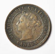 1888 1c Canada One Large Cent KM#7 Bronze