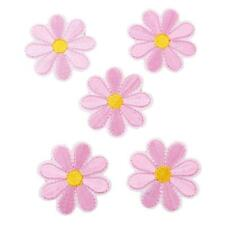 Flower Shaped Embroidered Sew Iron On Patch Badge Clothes Applique Bag Fabric MA