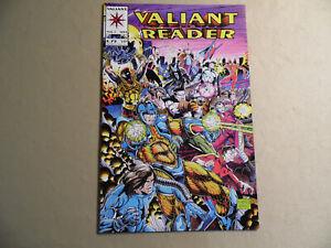 Valiant Reader #1 (Valiant 1993) Free Domestic Shipping