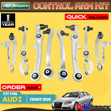 12x Control Arm Ball Joint Tie Rod Bar Link Kit for Audi A6 Quattro 2005-2011