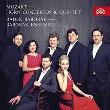 Mozart / Radek Babor - Mozart: Horn Concertos & Quintet [New CD]