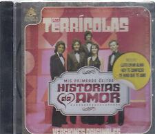 CD - Los Terriocolas NEW Mis Primeros Exitos Historias De Amor - FAST SHIPPING !