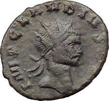 CLAUDIUS II Gothicus 268AD Ancient Roman Coin Nude Genius Wealth i29814