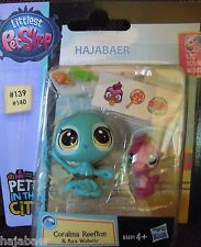 ☆ Littlest Pet Shop ☆ KRAKE #139 SEEPFERD #140 ☆ PAAR ☆ PETS IN THE CITY RAR NEU