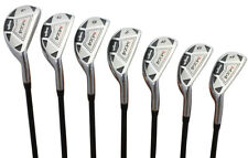 Men's Majek MX4 Hybrid Iron Set (4-PW) Regular Flex Graphite Shaft Rescue Clubs