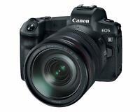 Canon EOS R Mirrorless Camera +RF 24-105mm F/4L is USM Lens