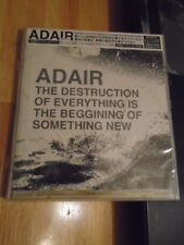 SEALED RARE OOP JAPAN Adair CD Destruction of Everything BONUS smashing pumpkins