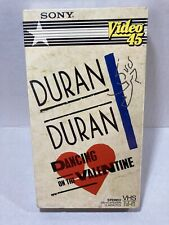 Duran Duran Dancing on the Valentine VHS 1984 Sony Video 45 Factory Sealed