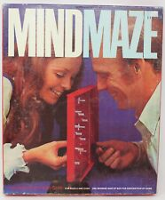 Vintage 1970 Mind Maze Strategy Game by Parker Brothers