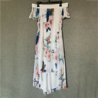 AUTH Ted Baker LUNER Jamboree pleated off the shoulder dress 0-5