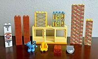 Lego Duplo Bob the Builder Lot 2X2, 2x4 Blocks