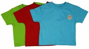 New Adams Baby Boys Surf Dude 3 Pack T-Shirt - Free 1st Class Postage