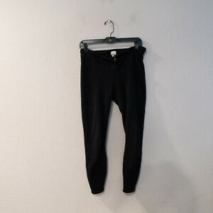 Patagonia Fleece Black Lined Pants Women's Size Small