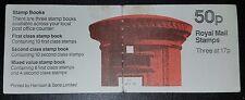 DUZIK: GB 1984 50p folded booklet mint stamps (No891)**