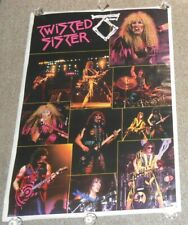 Twisted Sister 1984 Poster 58x40 HUGE Subway