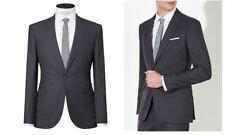 Kin by John Lewis Farley Birdseye  Suit Jacket - Graphite Size 36R BNWT RRP £109