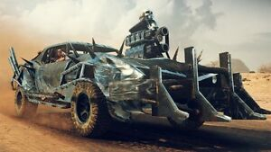 Poster Mad Max Fury Road Charlize Theron Tom Hardy Videogame PS4 Game Xbox #1