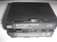 Batterie pour SONY NP-F970 NP-F960 NP-F950 NP-F550 NP-F750 6600mAh 7.4V NEUVE
