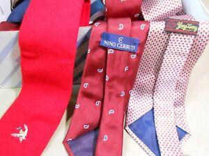 35 Vintage Men's Neck Ties Neckties
