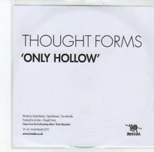 (DJ948) Thought Forms, Only Hollow - 2013 DJ CD