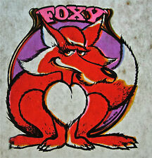 Vintage FOXY 1970s Shirt Trucker Hat Panties heat transfer iron on Sexy retro