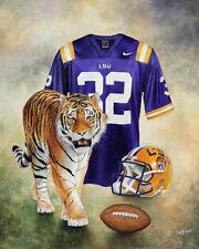 LSU  Tiger  Print 8 x 10