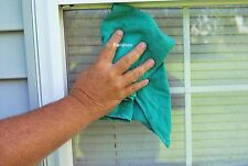 25 Lb. Box of Tight Weave Green Huck Surgical Towels-Glass Cleaning-Shop Towels