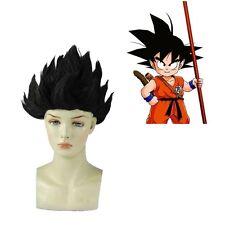 Cosplay Costume Wig Dragon Ball Z Goku Japan Anime Wig Hair Black Cosplay Wig