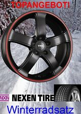 "TEC AS1 15"" mit 185/60 Nexen Winterreifen VW Polo 6R 6C GTI GT TDI TSI"