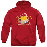 ADVENTURE TIME OUTSTRETCHED Licensed Adult Hooded and Crewneck Sweatshirt SM-3XL