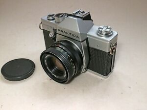 Praktica Super TL3 35mm film camera with 50mm F1.8 Pentacon lens.