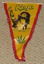 1978 Bob Marley Kaya Banner Flag Concert Merchandise From The European Tour