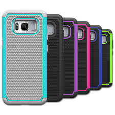 For Samsung Galaxy S8 Plus Phone Case Hard Hybrid Rubbe Shockproof Armor Cover