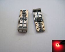 6x  Samsung 12W 3030 SMD LED 194 168 921 Ultra Red color Super Bright