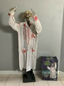 Spirit Halloween - Undead Laboratory Technician  - 2008 - Horror Prop Bloody