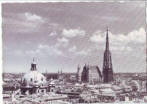 Old Postcard (1968) - Wien; Gesamtansicht - Posted 0290