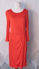 NWT LK BENNETT LONDON RED BERRY SARAH CAREER COCKTAIL WRAP Holiday DRESS SZ 12