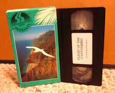 FLIGHT OF THE CANYON BIRD Hawaii travel video VHS South Sea Helicopter NA PALI