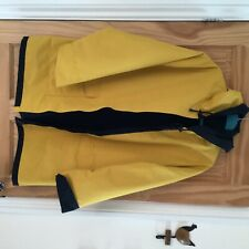 Seasalt 100% waterproof navy/mustard reversible size 18 ladies hooded Jacket