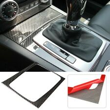 Carbon Fiber Gear Shift Panel Frame Trim Cover for Mercedes C-class W204 05-12 B