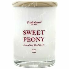 Scentsational Natural Soy Blend 11oz 1 Wick Medium Candle - Sweet Peony