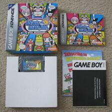 Complete BOXED Nintendo Gameboy Advance - Wario Ware, Inc. Mega Microgames CIB
