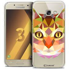 Cover Case for Samsung Galaxy A3 2017 (A320) Polygon Animal Rigid End It