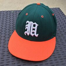 On The Field Pro Line Miami Hurricanes Authentic Baseball Team Hat Size 7 1/2