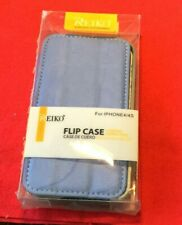 Reiko Flip Cover Case for iPhone 4/4s, folds into video stand,