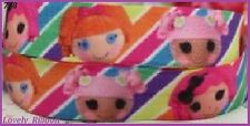 2 metres,  LALALOOPSY, 22mm, Ribbon, 7/8 ,Grosgrain, Doll, Hair, Cake Decorate