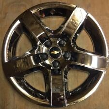 "'08-12 Chevrolet Malibu LT # 3277 17"" Chrome Hubcap Wheel Cover OEM # 09596921"