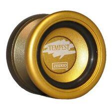 Zeekio Tempest Yo-Yo - Performance Aluminum Yo-Yo Gold and Bronze