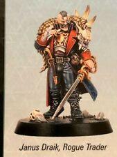 Warhammer Quest - Blackstone Fortress - Janus Draik Miniatur/ Miniature