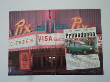 advertising Pubblicità 1983 CITROEN VISA 650